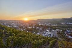 Sonnenaufgang über Ahrweiler